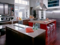 contemporary-kitchen-sunset