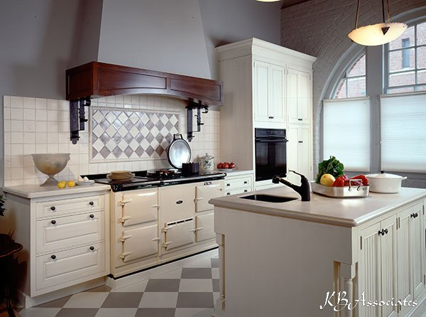 Portfolio vintage northern european kitchen kb associates for European kitchen ideas